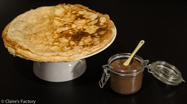 Crêpes et pâte à tartiner maison