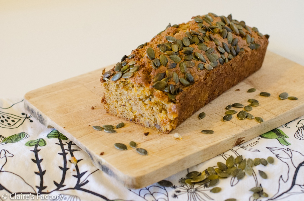 Butternut cake, noisettes et graines de courge - Bataille Food 32
